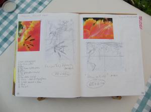 Dots Batik Sketchbook (1)