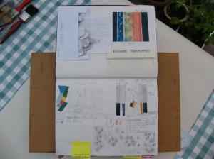 Dots Batik Sketchbook (2)