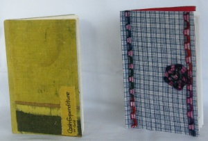Re-covered notebook 4-5