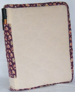 Re-covered note book 7