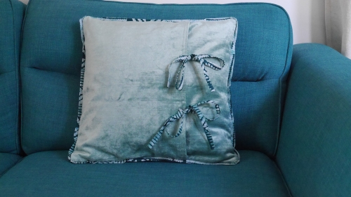 12. Back view of cushion cover