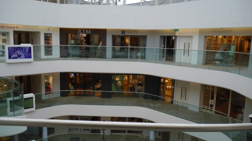 'Balconies around the hub of the Centre, 1'