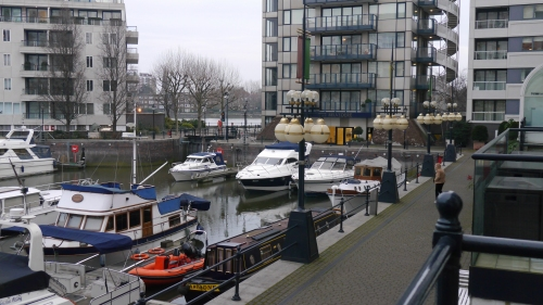 'Chelsea Harbour was not a disappointment either – the Marina looking out over the Thames'